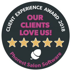 Phorest Client Experience Award 2018